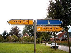 Bundesstraße 209 - Ehemalige B 209 zwischen Bad Fallingbostel und Soltau