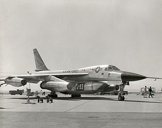 General Electric YJ93 - YB-58 at Edwards AFB with GE J93 engine pod