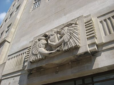 BBC Broadcasting House Eric Gill
