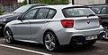 BMW 118d M-Sportpaket (F20) – Heckansicht, 21. April 2014, Düsseldorf.jpg