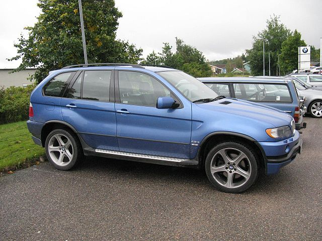 Image of BMW X5 4.8iS (E53)