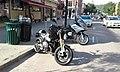 BMW motorcyles Main Street downtown Montpelier VT July 2016.jpg