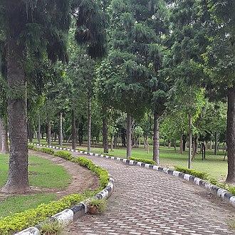 Punjabi University - Image: BOTANICAL GARDENS