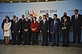 BRICS members and guest at the 6th BRICS summit 2014.jpg