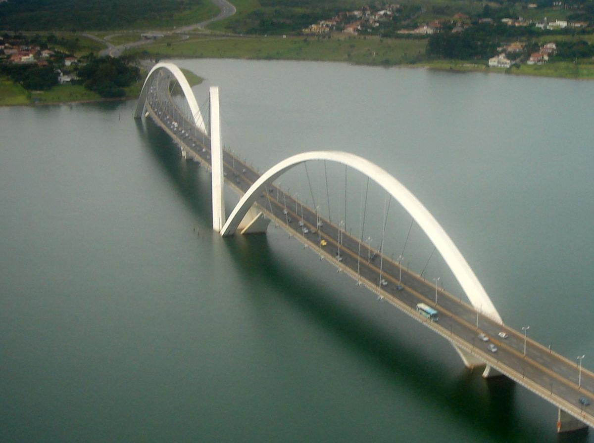 Ponte juscelino kubitschek wikip dia a enciclop dia livre for Portico e design del ponte