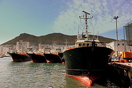 BUSAN FISHING FLEET AT BUSAN PORT SOUTH KOREA OCT 2012.jpg