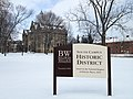 BW south campus historic district sign.JPG