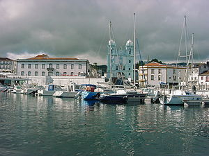 Sé (Angra do Heroísmo) - The iconic imagery of the city of Angra, are all part of the parish of Sé, including the marina, cathedral and gates of the city
