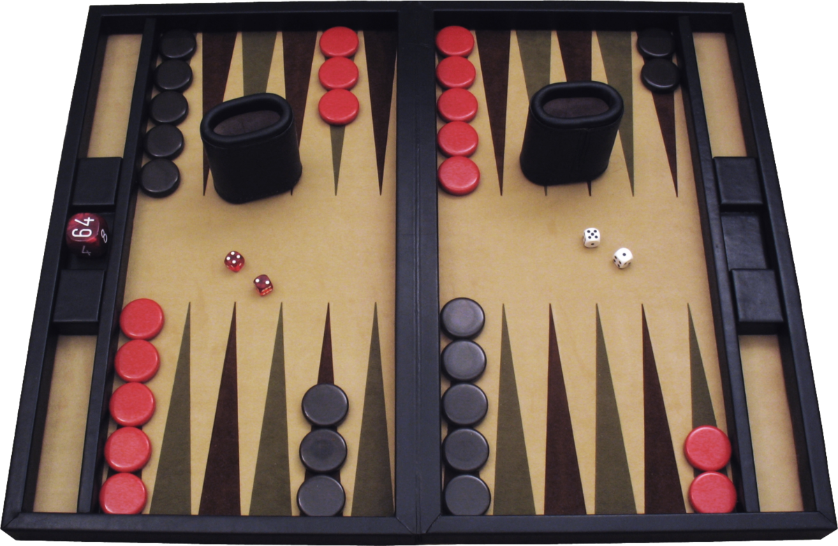 Backgammon Table Setup