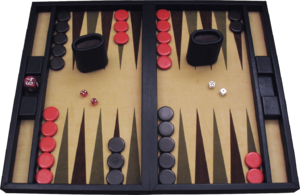 Perfect information - Backgammon includes chance events, but by some definitions is classified as a game of perfect information.