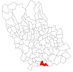 Vị trí của Balta Doamnei