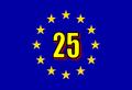 Bandiera europea a 25.png