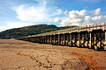 Barmouth Bridge at low tide.jpg