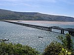 View of the bridge from Barmouth in 2009