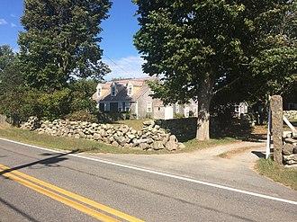 National Register of Historic Places listings in Dukes County, Massachusetts - Image: Barnhouse 1