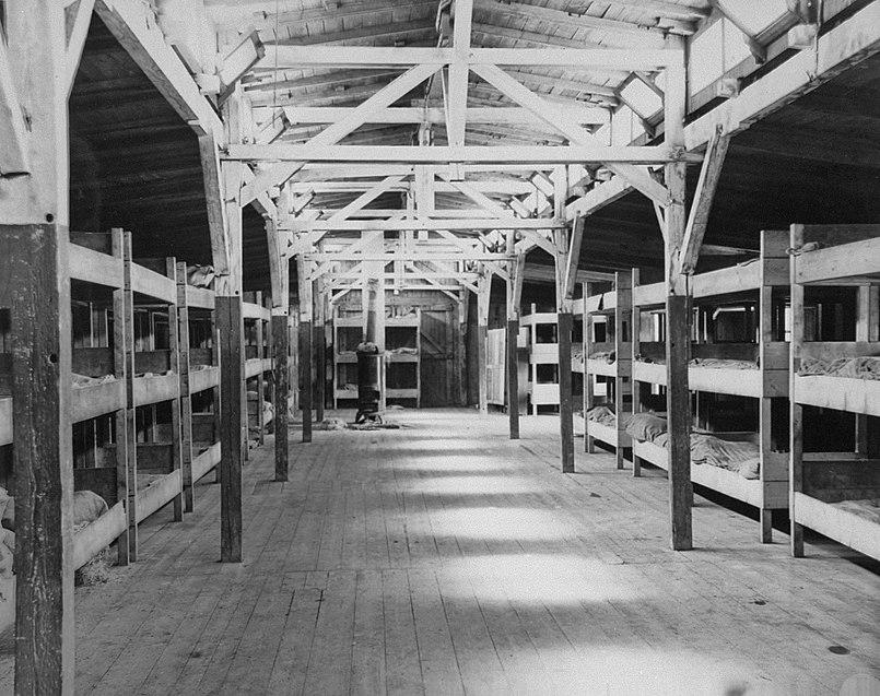 Barracks at Flossenbürg concentration camp