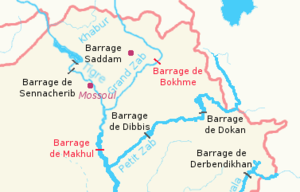 Little Zab - Image: Barrages irakiens (cropped)