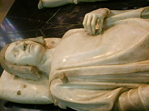 André Beauneveu - Beauneveu's effigy of King Charles V in the Abbey Church of St Denis. c.1366