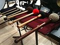 Bass drum and tam-tam mallets for Alexander Nevsky Cantata by Sergei Prokofiev.jpg