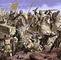Bataille de Taillebourg par Paul Lehugeur - St Louis.jpg