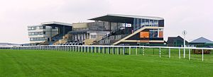 Bath Racecourse - The stands