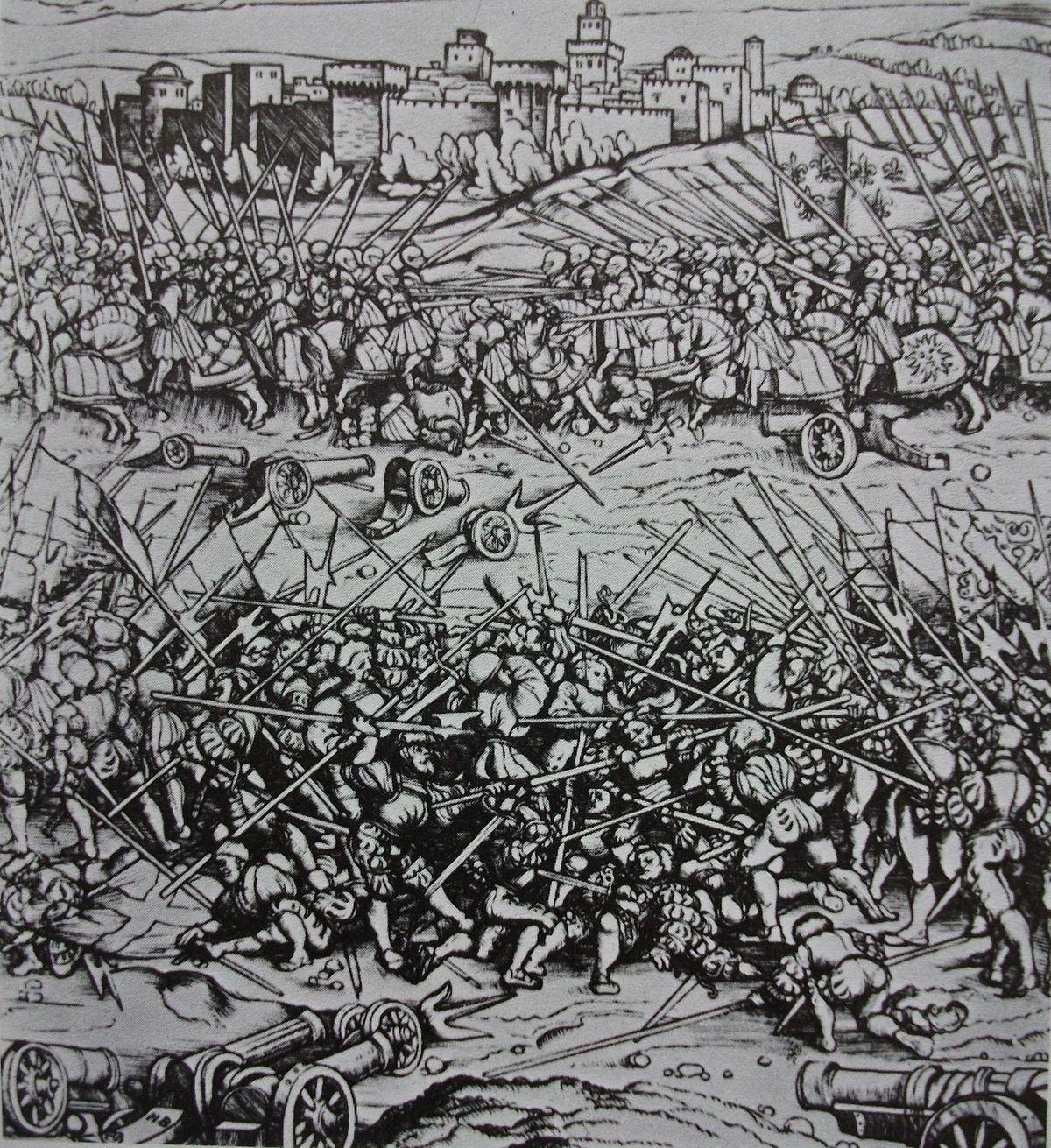 Battle Of Ravenna 1512 Wikipedia