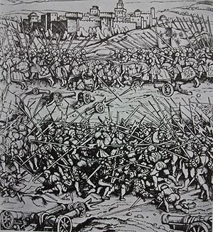 Battle of Ravenna (1512) - Image: Battle of Ravenna (1512)