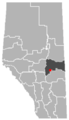 Bawlf, Alberta Location.png