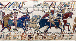 Bayeux Tapestry scene55 William Hastings battlefield.jpg