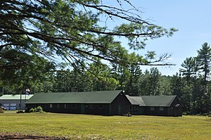 National Register of Historic Places listings in Merrimack County, New Hampshire - Image: Bear Brook CCC Camp 03