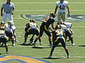 Bears on offense at UC Davis at Cal 2010-09-04 14.JPG