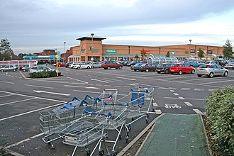 Beaumont Leys - Image: Beaumont Leys Shopping Centre geograph.org.uk 75416