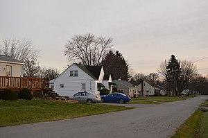Neshannock Township, Lawrence County, Pennsylvania - Residential neighborhood in New Castle Northwest