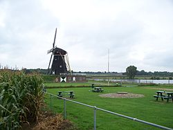 Wind mill in Beesel
