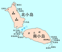 Location of 北小島
