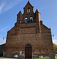 Bellegarde-Sainte-Marie - Clocher-mur de l'église.jpg