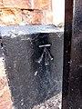 Bench mark on Chatterton House - geograph.org.uk - 1549263.jpg