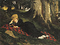Benczúr, Gyula - Woman Reading in a Forest - Google Art Project.jpg