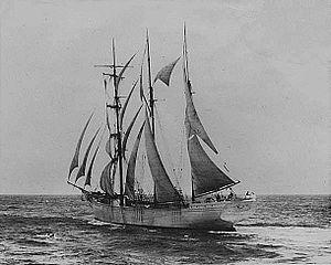 Benicia (barquentine) - Image: Benicia (ship, 1899) lib.WA 4092