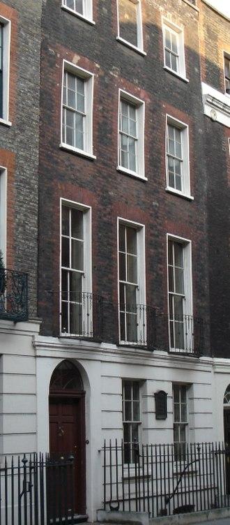 Benjamin Franklin House - Benjamin Franklin's House, Craven Street, London