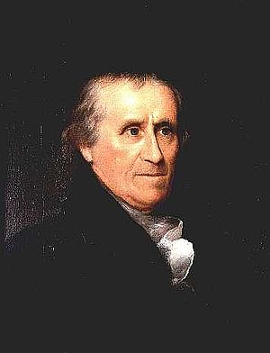 Benjamin Waterhouse - Waterhouse portrait by Rembrandt Peale from 1833.