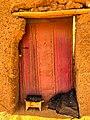 Berber tribe huts, Erg Chebbi, Sahara Desert, Morocco, 摩洛哥.jpg