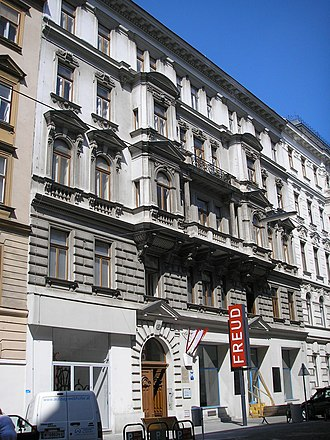 Sigmund Freud Museum (Vienna) - The Sigmund Freud Museum on Berggasse.