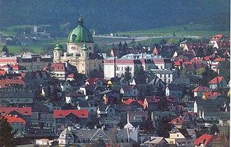 Berndorf, Lower Austria - Image: Berndorf Town View 01