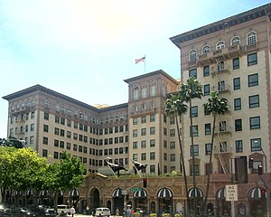 Beverly Wilshire Hotel in Beverly Hills, Calif...
