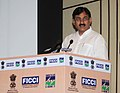 Bharatsinh Solanki addressing at the inauguration of the seminar on 'National Campaign for Energy Efficiency & Conservation', organized jointly by Ministry of Power, BEE & FICCI, in New Delhi on May 05, 2010.jpg