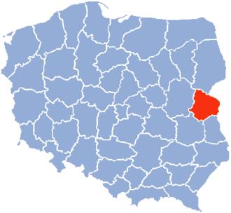 Biała Podlaska Voivodeship - Biala Podlaska Voivodeship
