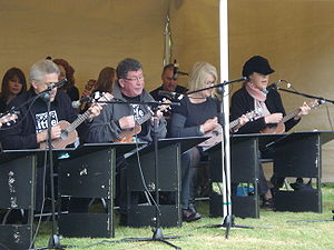"Biggar, South Lanarkshire - The Biggar Ukulele Ensemble ""The Dukes of Ukes"""