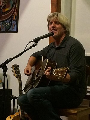 Bill Deasy - Deasy performing at a house concert.  Pittsburgh, PA. Nov. 4, 2017