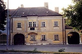 Joseph Joachim - Joseph Joachim's birth house in Kittsee